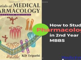 How to Study Pharmacology in MBBS Second Year