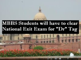 NEXT Exit Exam National Exit Exam After MBBS India
