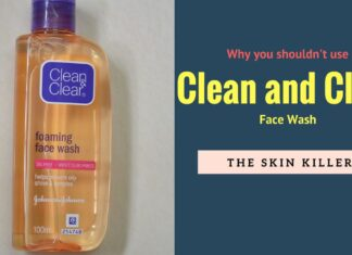 Clean and Clear face wash bad reviews