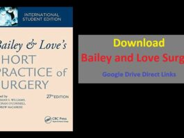 Bailey and Love Surgery 27th Edition Download PDF Free